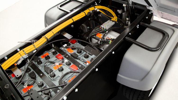 De LiFePO4-accu heeft volgens de fabrikant verreweg de hoogste specificaties.