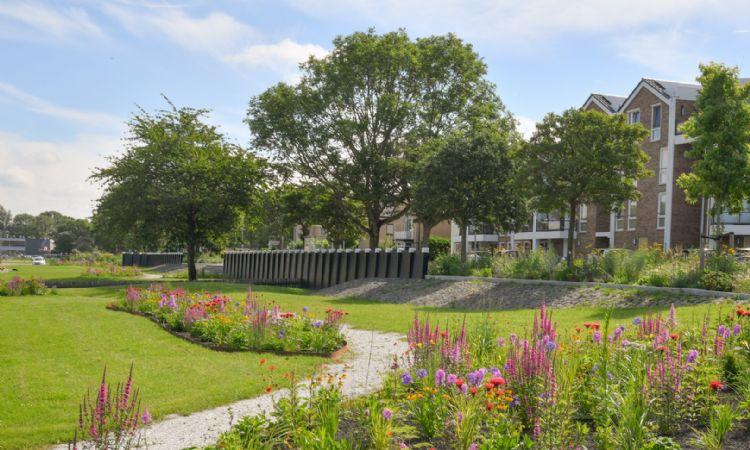 Lageschaar Prairie Garden, projectfoto biodiversiteit