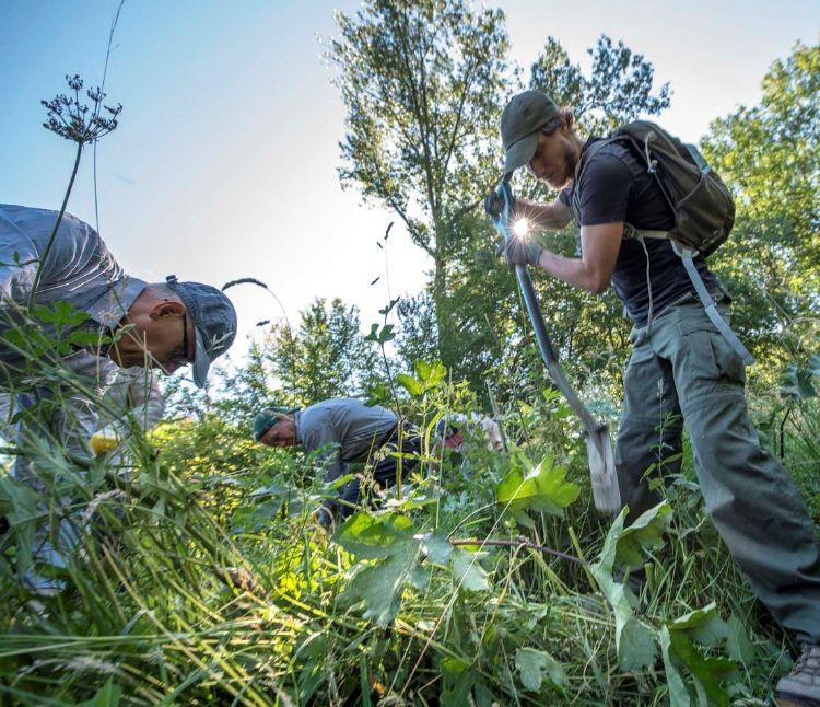 Vrijwilligers werven voor exotenbestrijding begint met gedegen kennisoverdracht. ©Peter Venema