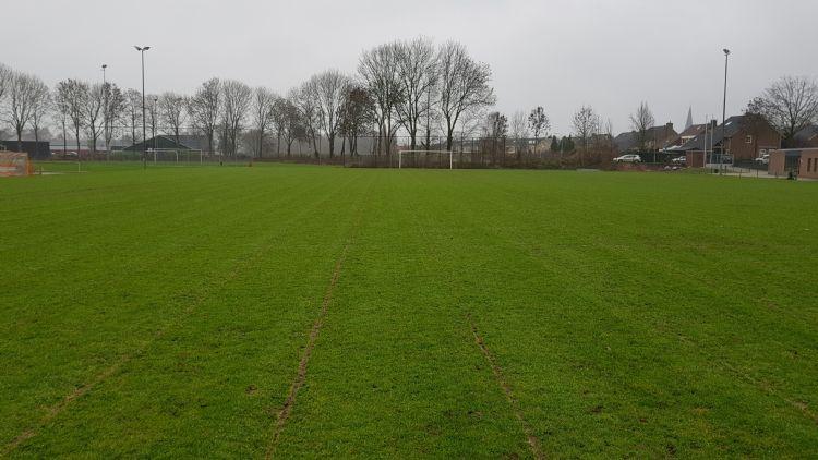 Het pilot-veld met Draintalent in Beek