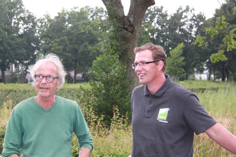 Henk Hendriksen en voorzitter Paul Struijk