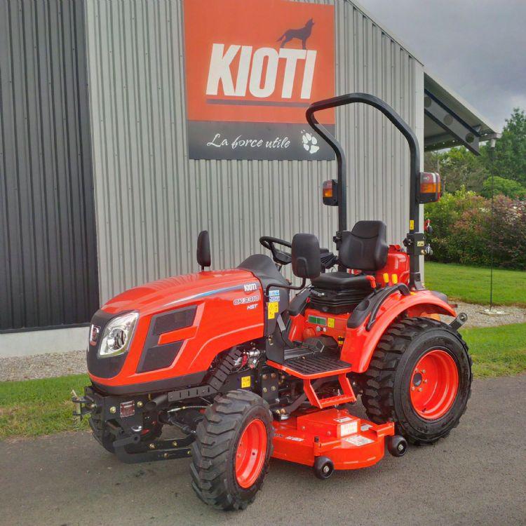 In de 50 jaar dat het op de markt is, heeft het merk Kioti een behoorlijk imago opgebouwd.