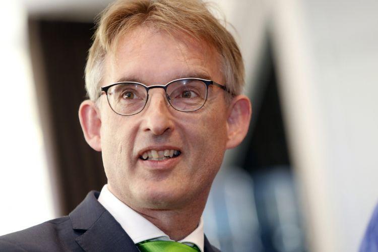 Directeur Stichting Groenkeur Dick Oosthoek