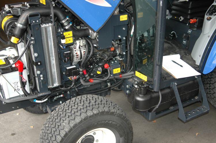 De nieuwe 37 pk- en 42 pk-motoren in de TH 5000-serie zijn technisch vrijwel identiek.