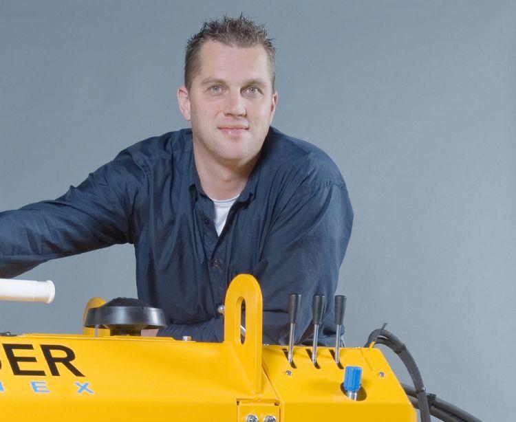 Productmanager Ronald Melse van Herder.