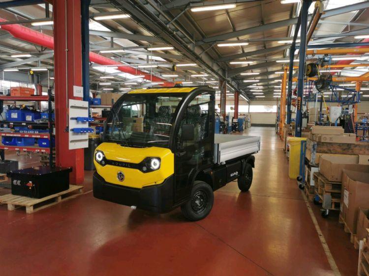 De eerste G4 facelift in de Goupil fabriek in Frankrijk