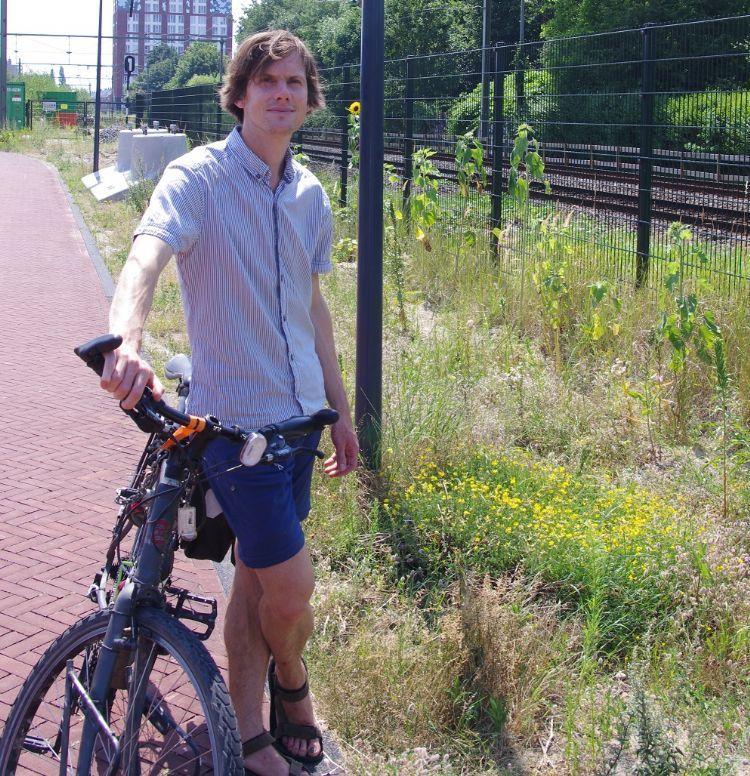 Leidse stadsecoloog Wouter Moerland