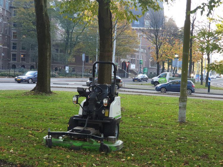 De AllTrec-maaier in Amsterdam