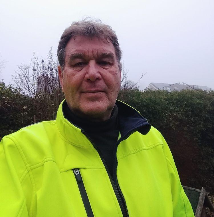 Reinier Haagsma, coördinator bij de gemeente Leeuwarden, zegt heel tevreden te zijn met zijn twee Ransomes HM600's.