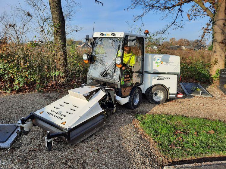 Als overheidsorganisatie wil AVRI het goede voorbeeld geven door elektrische voertuigen te gebruiken.