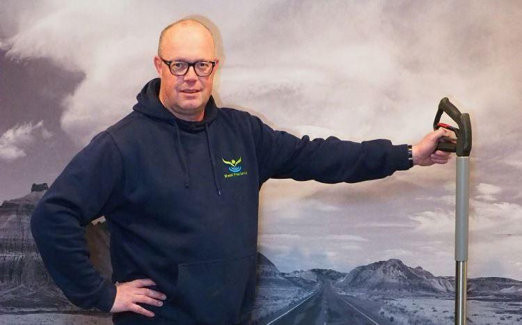 Harry Kloosterman, directeur Weed Free Service