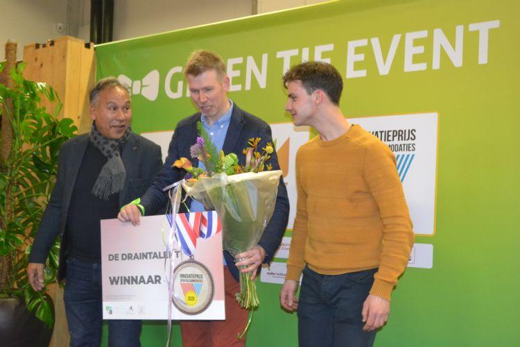Sam Speijers, Arno Harmsen en Wesley Aaldering.