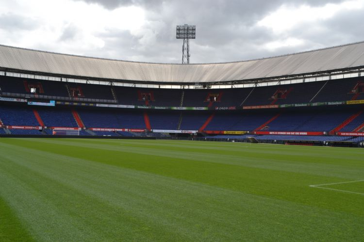 Feyenoord stond ruimschoots bovenaan in de veldencompetitie.