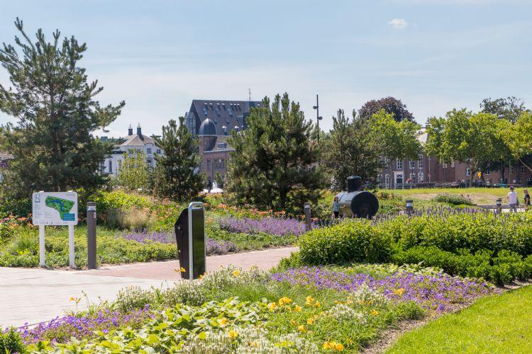 Het Burgemeester Geukerspark in Helmond. Fotografie: Paulien Varkevisser