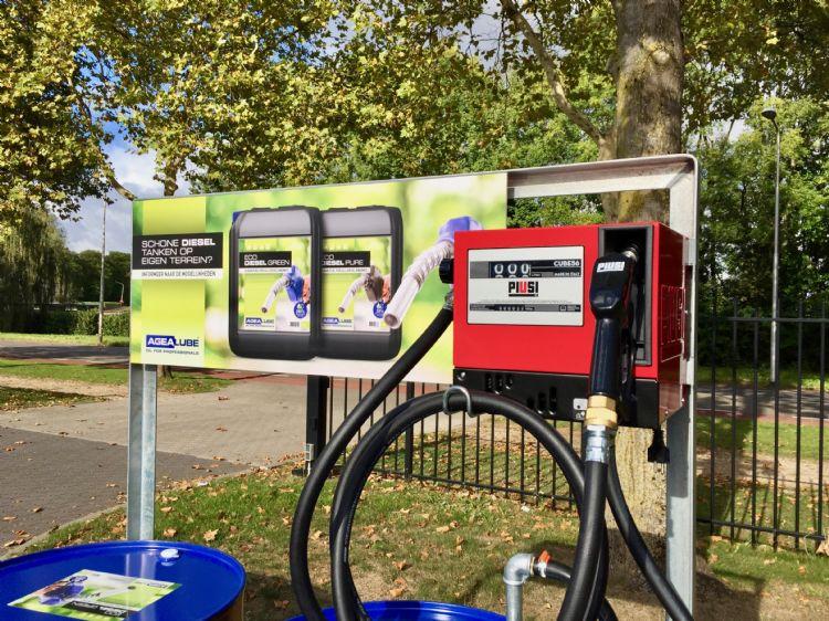 Het aanbod van duurzame brandstoffen stijgt en zorgt soms voor verwarring.02 blauwe diesel