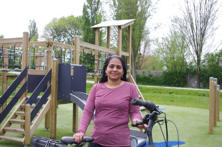 Nancy Rahman: 'Kinderen maken hun eigen spel.'