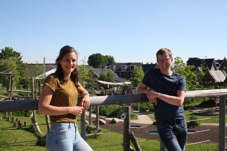 Jorien Slot-Heijs en Rick Prins van het Mulier Instituut